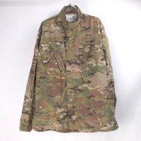 【30%オフ】 マルチカム ACU  FR インセクトガード シャツジャケット デッドストック(SR)(sale商品)
