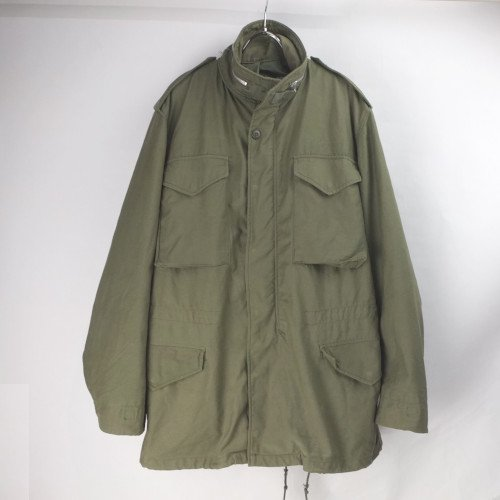 M-65 フィールドジャケット セカンド ML アルミジップ  60's 米軍 実物