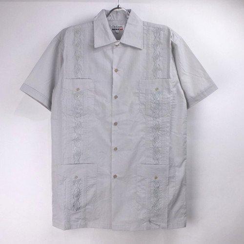 (LGR/M)  Chic Elegant  キューバシャツ(新品)【メール便可】