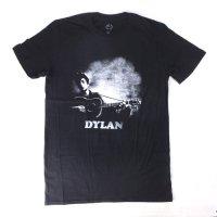 (M) ボブディラン guitar & logo Tシャツ(新品)【メール便可】