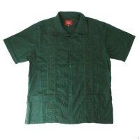(DGRN/M) Maximos マキシモス キューバシャツ (新品) 半袖  【メール便可】