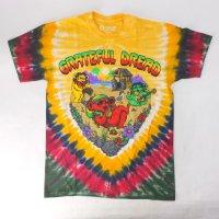 (L) グレイトフルデッド Positive Vibrations  タイダイ Tシャツ (新品) GRATEFUL DEAD【メール便可】