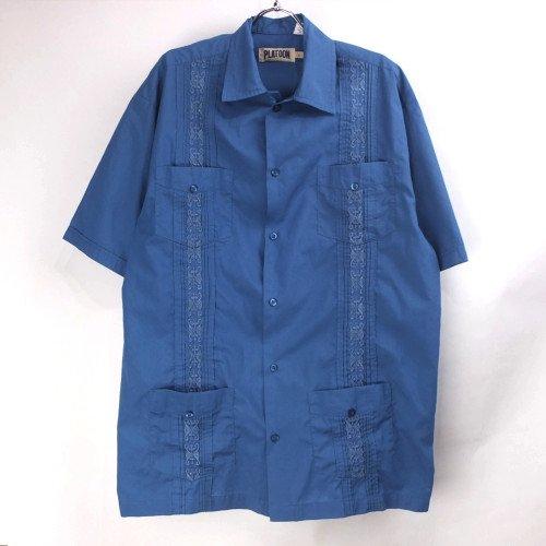 PLATOON 半袖キューバシャツ 【メール便可】(sale商品)