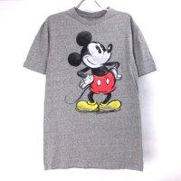【S】 ミッキーマウス Disney Tシャツ HGR(新品) 【メール便可】