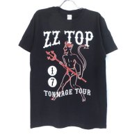 (L) ZZ TOP TONNAGE TOUR Tシャツ (新品) オフィシャル 【メール便可】