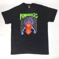 (L) ファンカデリック AFRO GIRL Tシャツ (新品) オフィシャル 【メール便可】