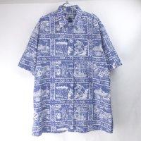 レインスプーナー  ハワイアンシャツ  XXL【メール便可】