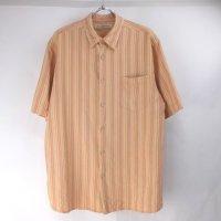 トミーバハマ 半袖 シルクシャツ #10 Tommy Bahama ストライプ【メール便可】
