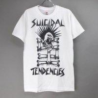 (S)  スイサイダルテンデンシーズ MOHAWK SKULL Tシャツ (新品) 【メール便可】
