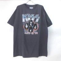 (XL) キッス KISS ALIVE IN 77 Tシャツ (新品) オフィシャル 【メール便可】