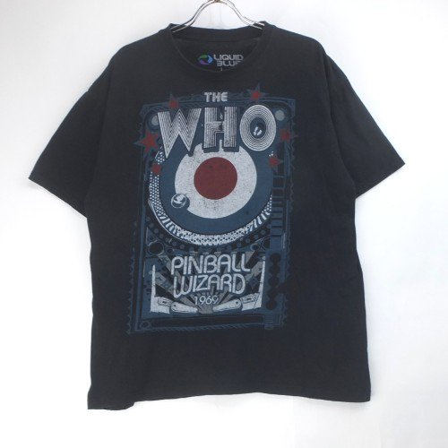 THE WHO フー PINBALL WIZARD Tシャツ 古着【メール便可】