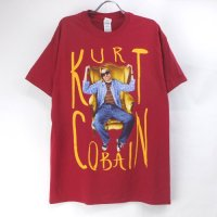 (L) ニルヴァーナ KURT Sitting Chair Tシャツ (新品) オフィシャル 【メール便可】