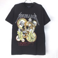 (L) メタリカ  Vintage Shortest Straw Tシャツ (新品)  オフィシャル【メール便可】