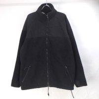 ECWCS  ポーラテック フリースジャケット BLACK (L) USED #B 米軍 実物