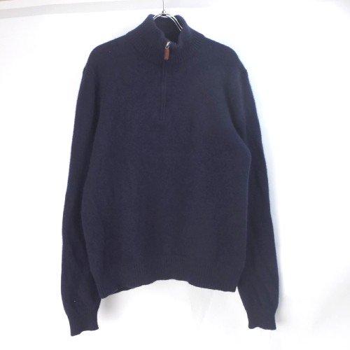 【20%オフ】 ラルフローレン  ハーフジップ  セーター NVY(sale商品)