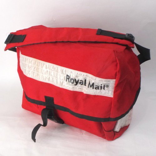 ロイヤルメール メッセンジャーバッグ #9 英国郵政 Royal Mail  ホワイト