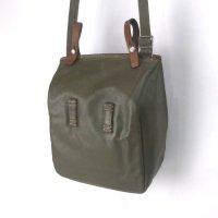 スイス軍  PVC カバー サイドバッグ ショルダー