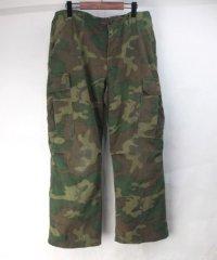 ジャングル ファティーグパンツ グリーンリーフカモ  ジップ交換 裾上げ MR