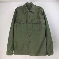 米軍  コットンサテン ユーティリティシャツ 60's 実物