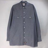 ディッキーズ 長袖 ワークシャツ CHNV DIckies 【メール便可】