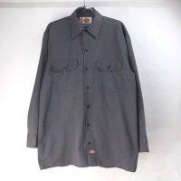 ディッキーズ 長袖 ワークシャツ CHA #1 DIckies 【メール便可】
