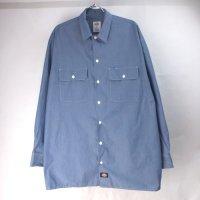 ディッキーズ 長袖 ワークシャツ CHNBL #3 DIckies 【メール便可】