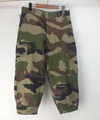 フランス軍 カモ F2 パンツ #1実寸W31L20.5