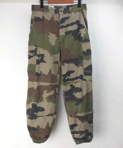 フランス軍 カモ F2 パンツ #2 実寸W31L27