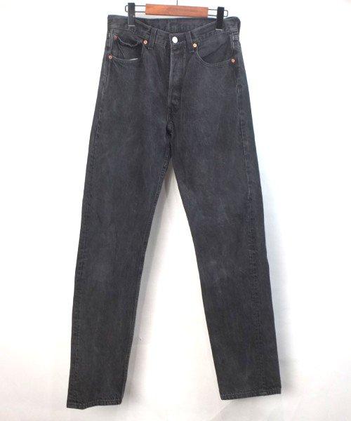 リーバイス ブラック 501 USA BLACK デニムパンツ 実寸W30L34