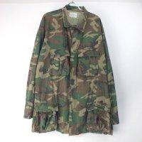 米軍  ブラウンリーフ LC-1ファティーグ シャツジャケット DPSC (LL)