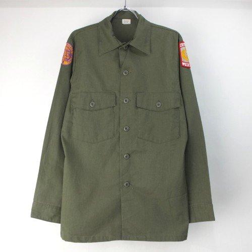 米軍   ユーティリティシャツ DURA PRESS 15.1/2x33