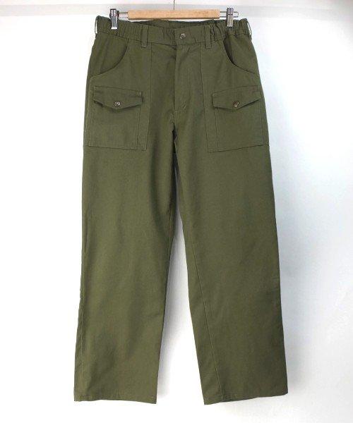 ボーイスカウト ブッシュ パンツ 実寸W33L29