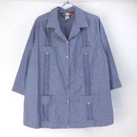 D'Accord 七分袖 キューバシャツ【メール便可】
