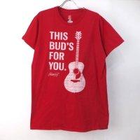 バドワイザー ギター Tシャツ   (古着)