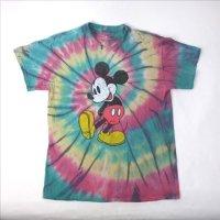 ミッキーマウス タイダイ #2 Tシャツ   (古着)