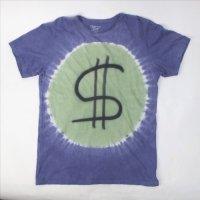 MOEGLI SURF モーグリサーフ $ ドルマーク  Tシャツ  USA製  (古着)