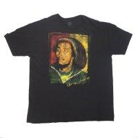 ボブマーリー Get up Stand up  Tシャツ  XL (古着) 大きいサイズ【メール便可】