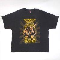 エアロスミス 2010 ツアー Tシャツ XL 古着 【メール便可】