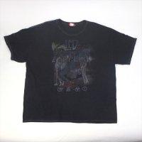 レッドツェッペリン BLK   Tシャツ XXL  (古着) 大きいサイズ【メール便可】
