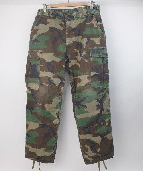 米軍 ウッドランドカモ BDU パンツ  MS 実寸W34L29