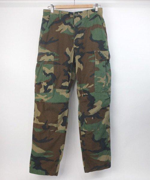 米軍 ウッドランドカモ BDU パンツ  SR 実寸W30L32