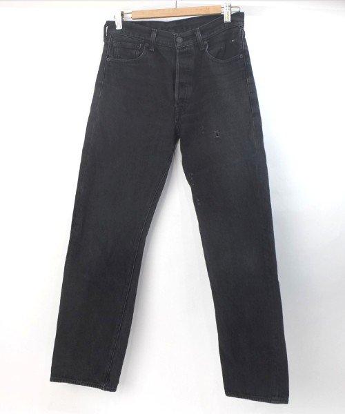 リーバイス 501 ブラック 実寸W30L29.5