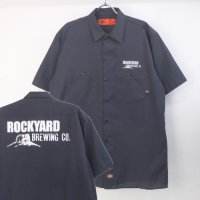 Dickies ディッキーズ 半袖 ワークシャツ ROCKYARD【メール便可】