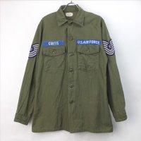 米軍   ユーティリティシャツ U.S.AIR FORCE CURTIS