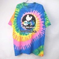 Roachstock タイダイ  Tシャツ  XL (古着) 【メール便可】