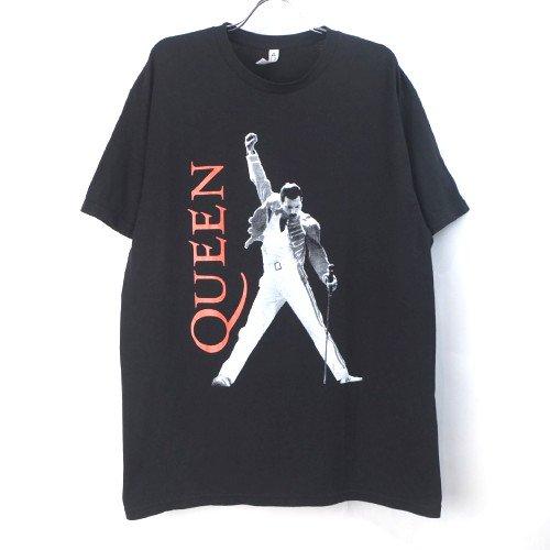 クイーン QUEEN フレディー BLK Tシャツ  (古着) 【メール便可】