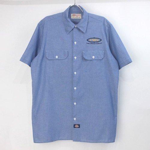 ディッキーズ Dickies 半袖 ワークシャツ  #15 (L)【メール便可】