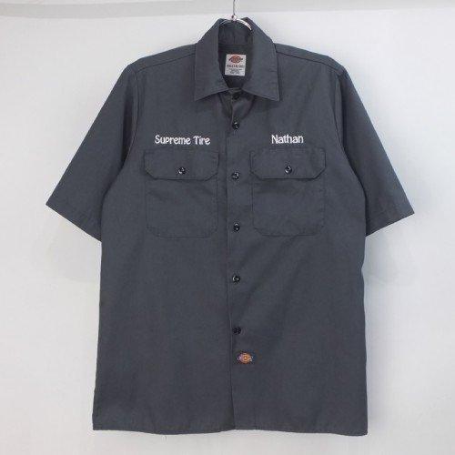 ディッキーズ Dickies 半袖 ワークシャツ  #19(XL18-20)【メール便可】