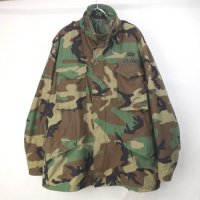 M-65 フィールドジャケット  ウッドランドカモ LR  米軍 実物