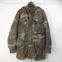 M-65 フィールドジャケット  ウッドランドカモ SL 米軍 実物